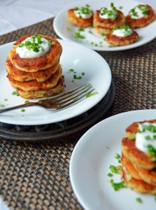 Incredibly Simple Potato Cakes