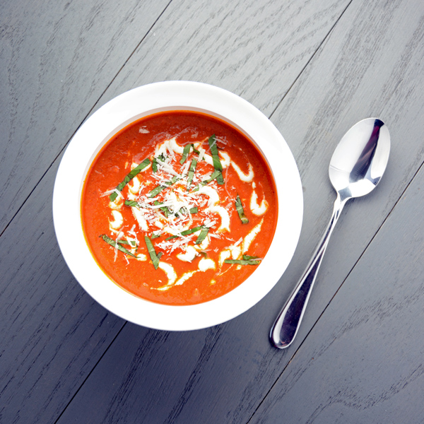 Sun Dried Tomato and Basil Soup