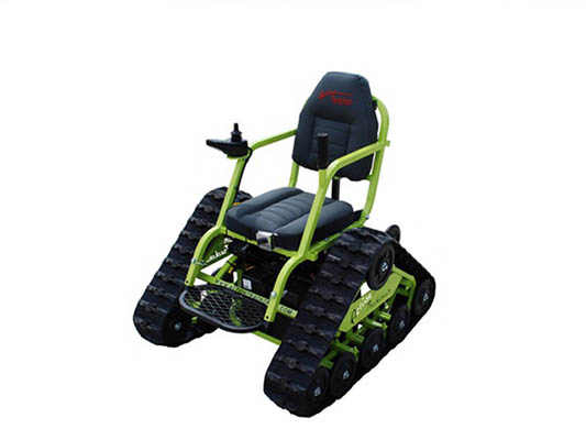 action track chair cover rentals jackson ms trackchair the root farm with multiple models available is only all terrain wheelchair to obtain an hcpcs k0899 code which allows these devices be