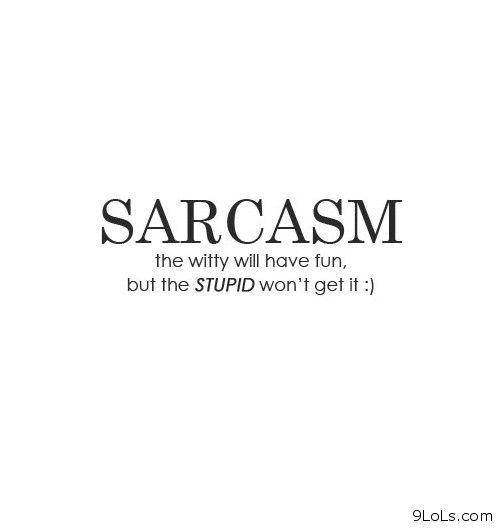 sarcastic quotes images