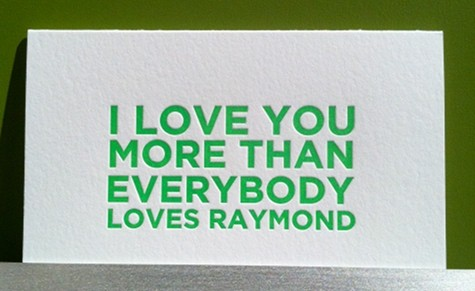 i love you more than distance everybody loves raymond