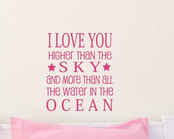 i love you more than sky