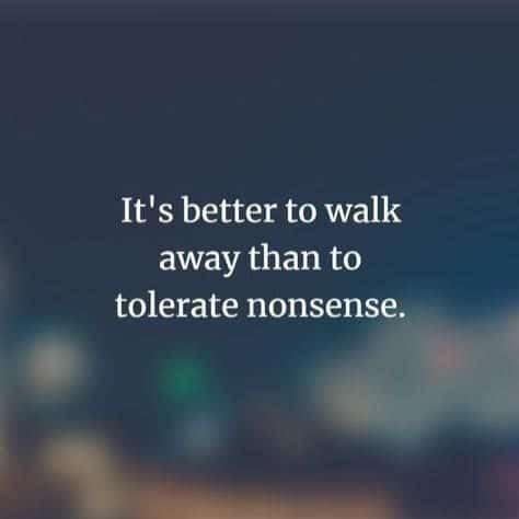 walk away quotes