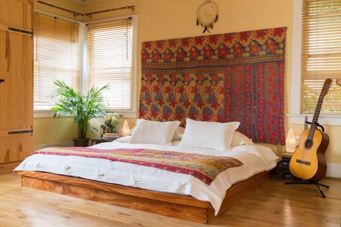 Sand Bed In Bedroom
