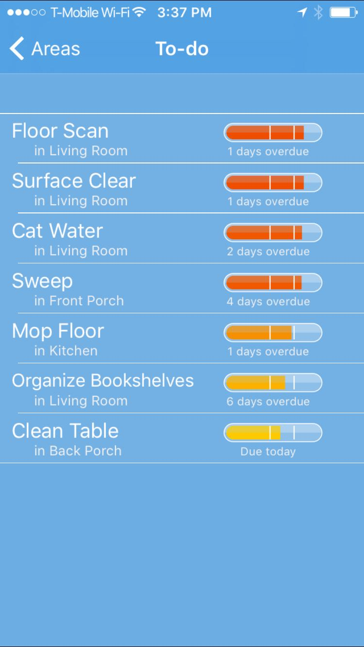 Tody An App that Helps You Clean  Root Simple