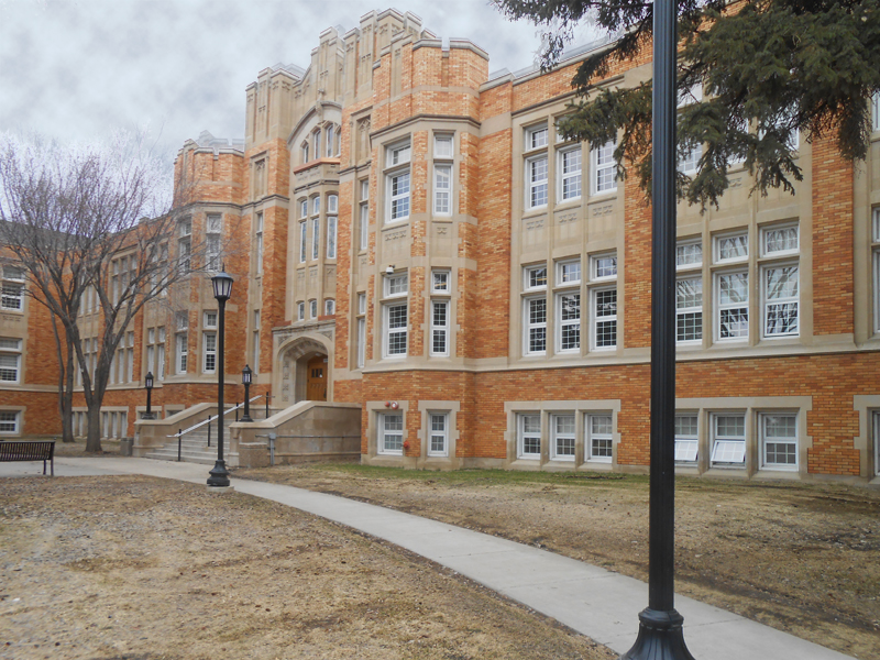E.A. Davies Building, Saskatoon Normal School, Saskatoon Teachers College, University of Saskatchewan Avenue A Campus