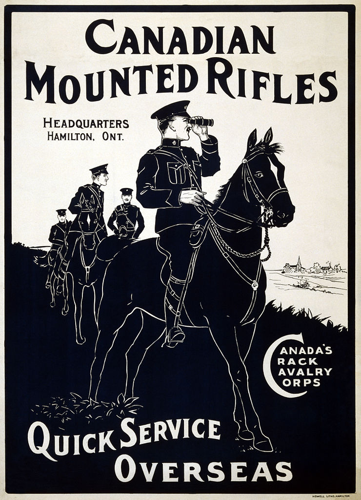 Canadian Mounted Rifles_poster