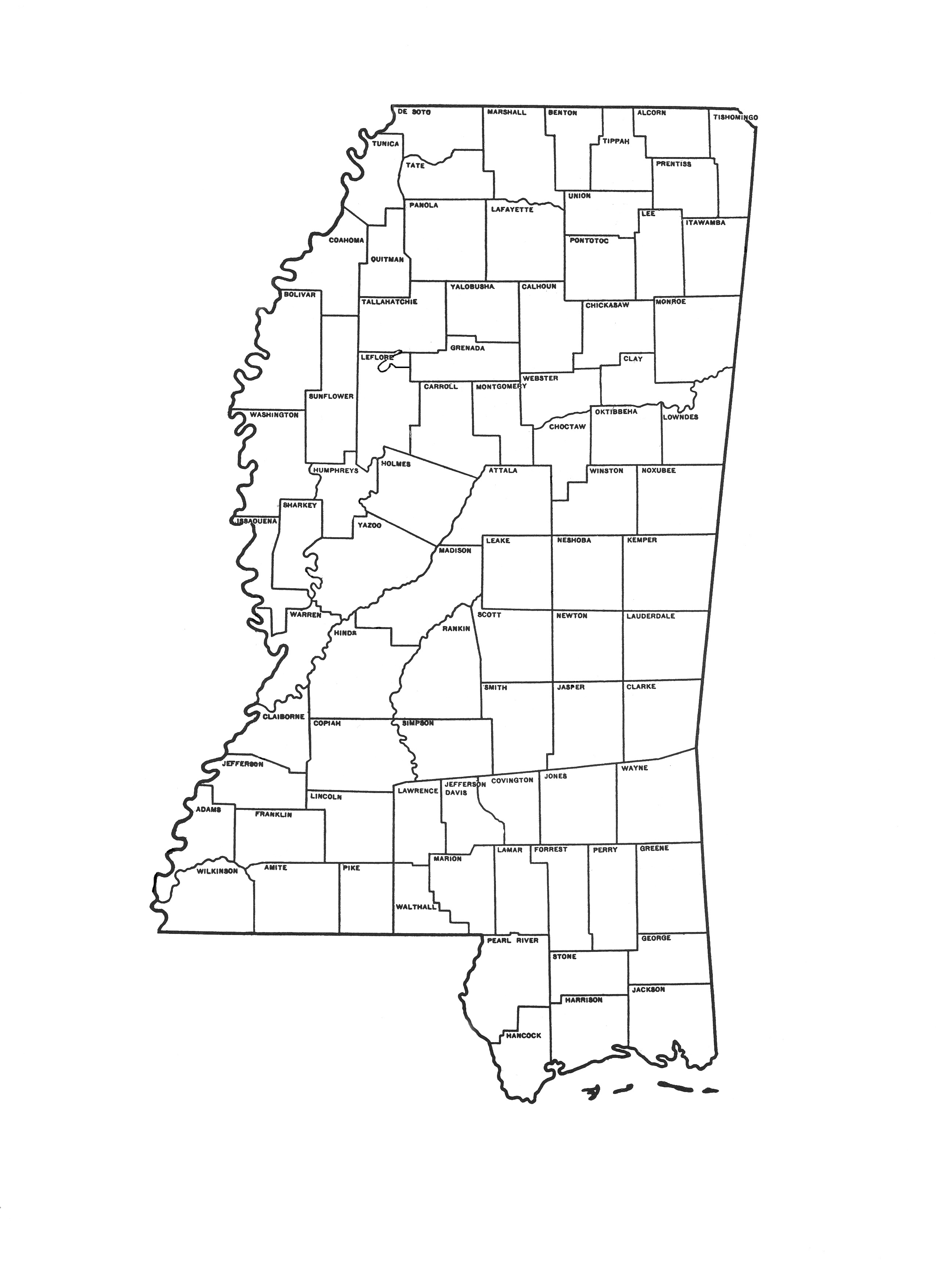 Free coloring pages of mississippi river