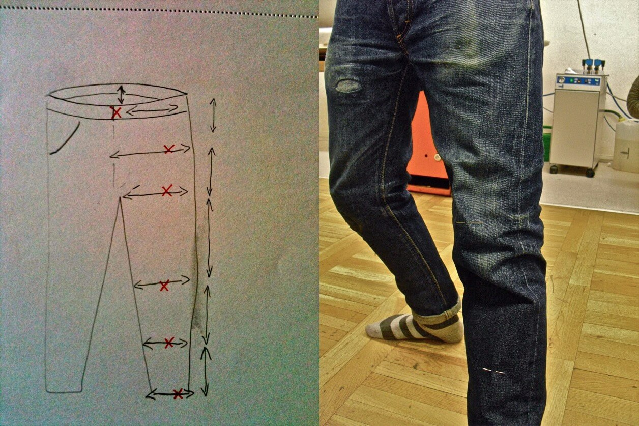 How To Make Jeans Pattern The 10 Basic Steps