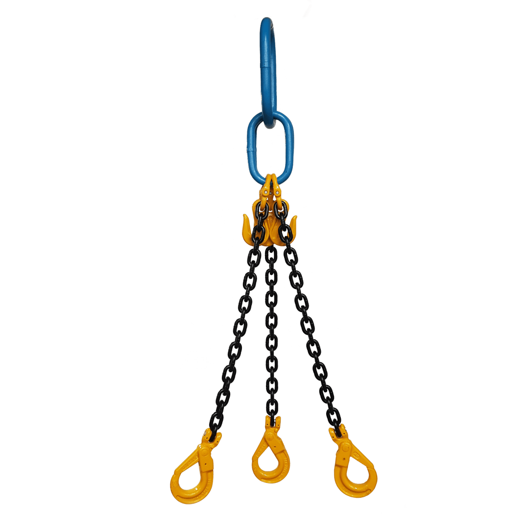 Yoke Grade 8 20mm Three Leg 26 5 Tonne Chain Sling