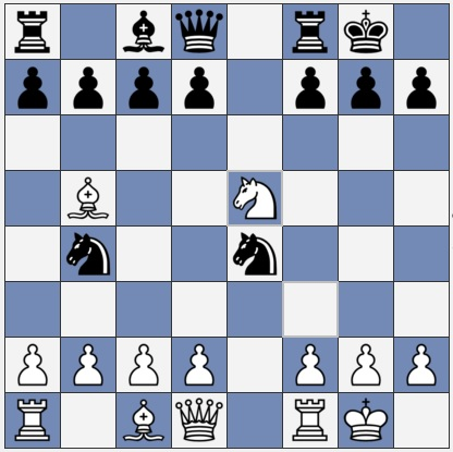 Black to move after Nxe5