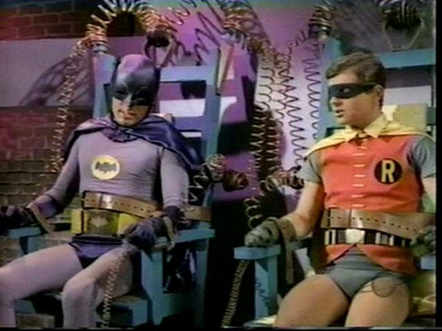 Guys in Trouble  Adam West and Burt Ward in Batman  Ma