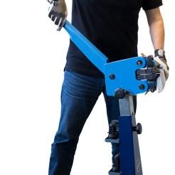 hand operated shrinker stretcher
