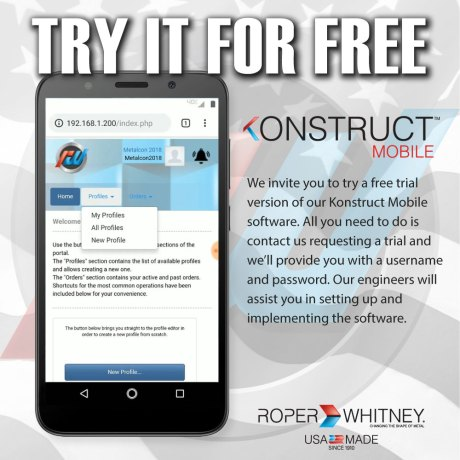 Try Konstruct Mobile for Free
