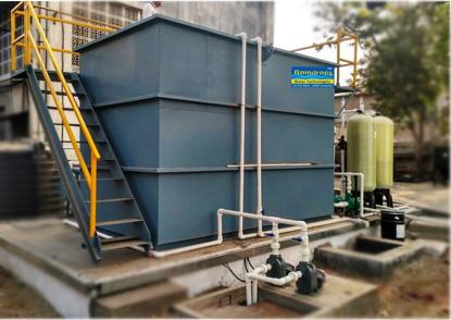 STP Sewage Treatment Plant Vatva Ahmedabad Gujarat India