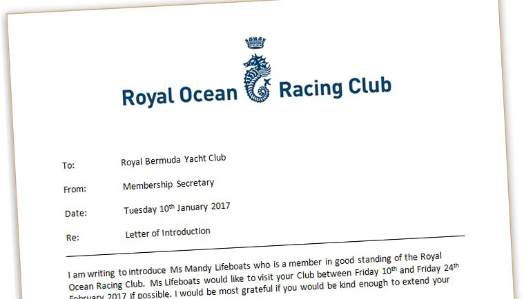 Royal Ocean Racing Club Join The RORC