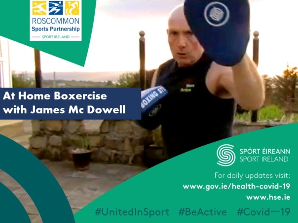 At Home Boxercise with James McDowell - Roscommon Sports Partnership