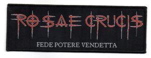 Rosae Crucis Patches