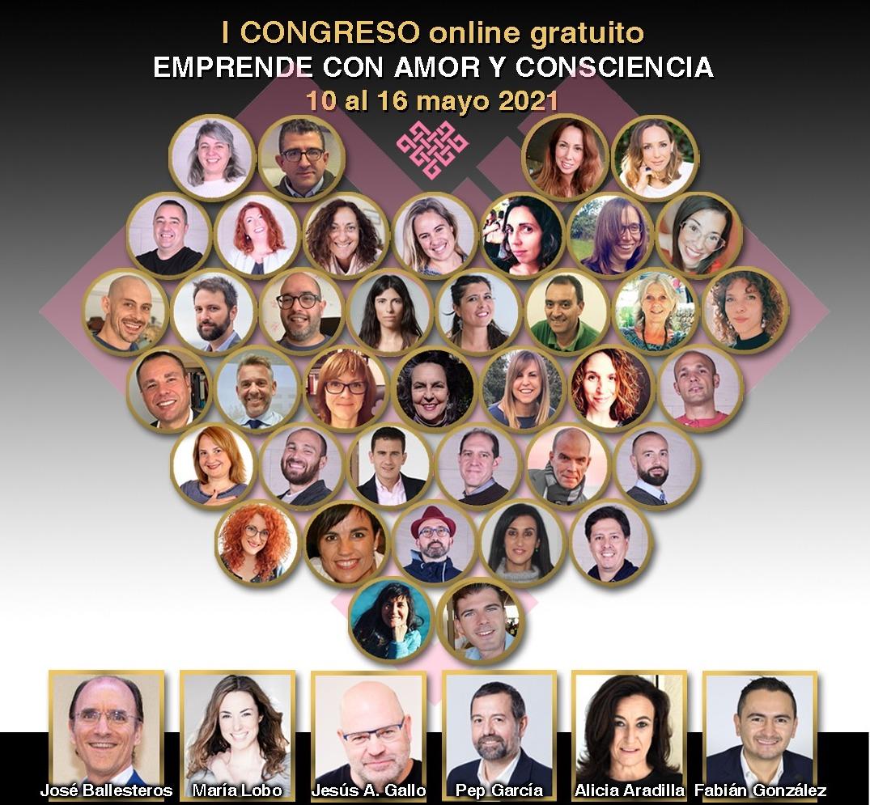 I Congreso online gratuito Emprende con Amor y Consciencia 2021