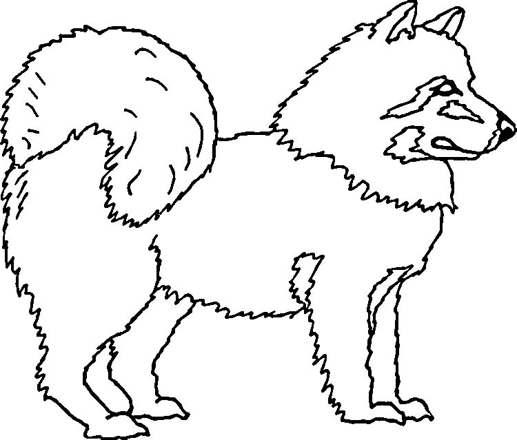 Eskimo Coloring Pages 6