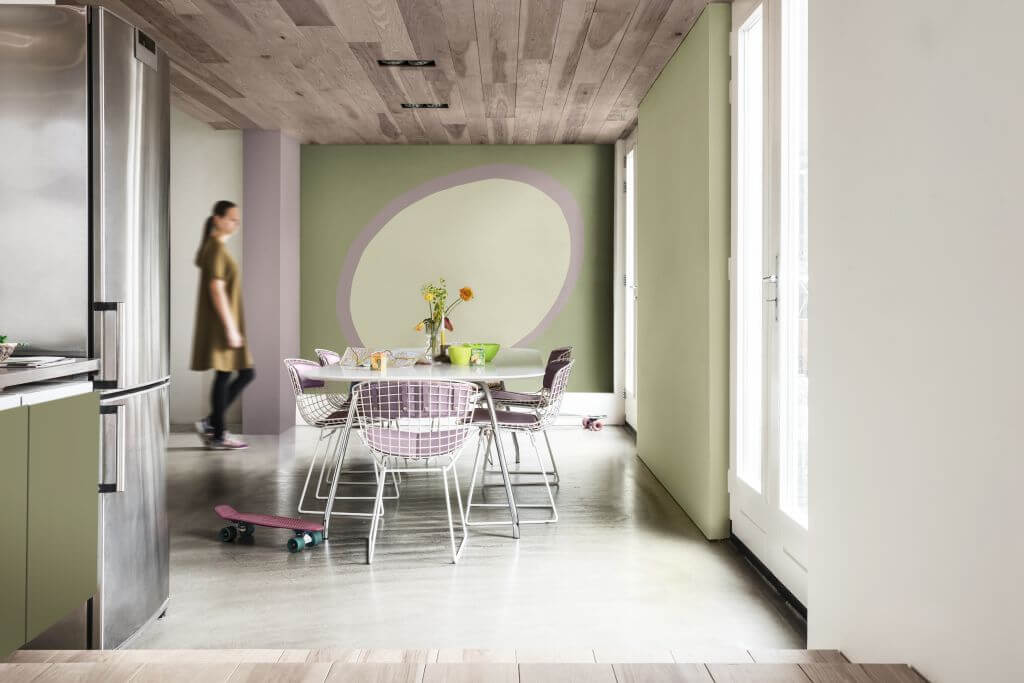 Heart Wood Flexa Trendkleur van 2018  Bureau RosalisaVilla