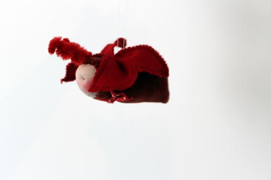 Puppe nach waldorf art Käfer