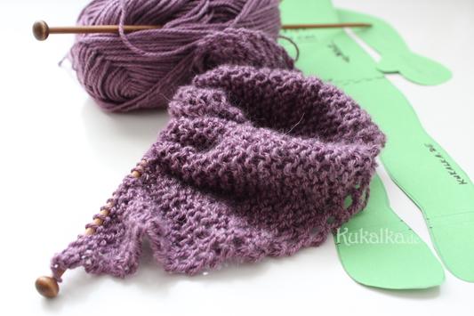 Stricken Auf den Nadeln Juni shawl doll puppen schultertuch knit waldorf diy anleitung ebook schnittmuster