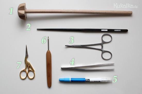 Puppenmacher Werkzeug