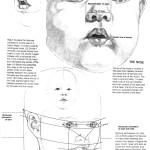 Proportionen Gesicht Puppe