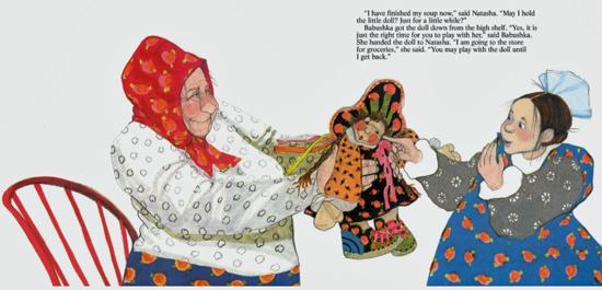 Babushkas Doll Buch Puppe