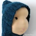Puppe Filz Kopf