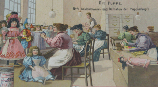 [:de]Von der Puppenmacherei: Entwicklung der Puppenfertigung[:en]The History of Dollmaking: Development of manufacturing dolls[:]