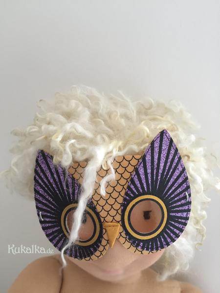 12 von 12 Oktober - Sima doll by Kukalka with mask
