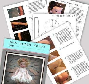 Doll Pattern PDF by MPF
