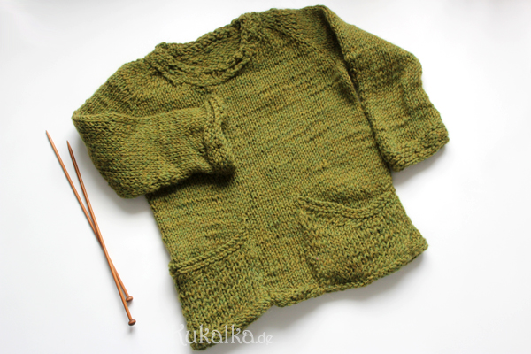 Kinderpullover stricken