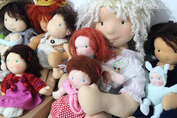 Kukalka Puppen