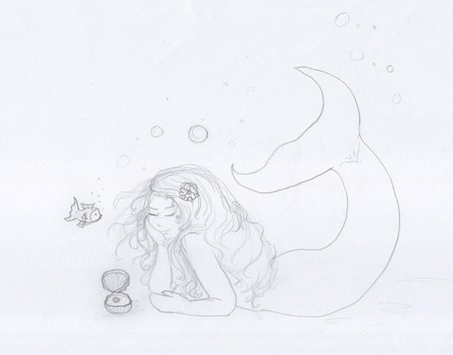 puppe schnittmuster mermaid
