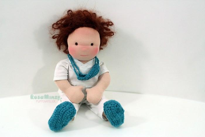 Zeichnung Puppe Arzt nach Bild