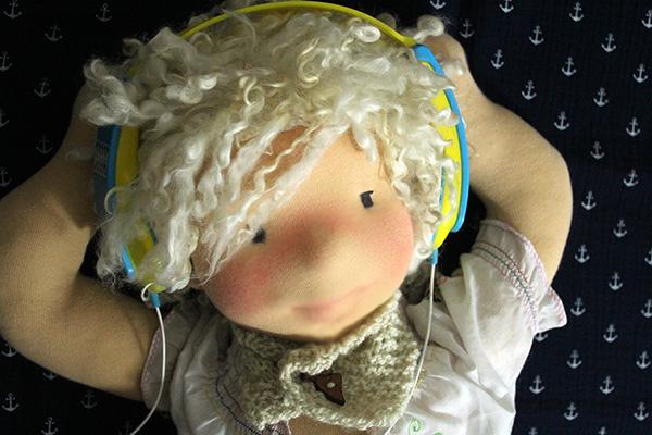 Musik Puppe