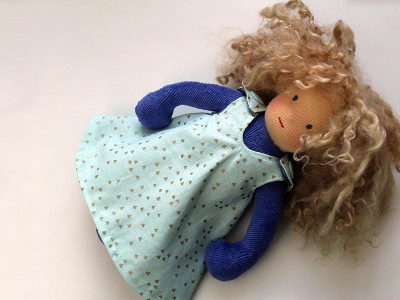 Minzling Puppe Sinikka