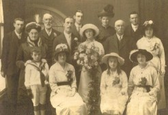 Genealogy - wedding