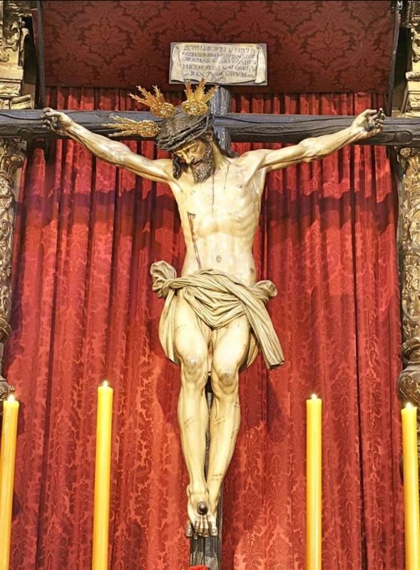 Santísimo Cristo del Calvario, obra De Francisco de Ocampo (1579 - 1639), realizada entre 1611 y 1612. A esta imagen están dedicadas las Coplas al Señor del Calvario.