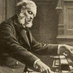 César Franck tocando su famoso órgano Cavaillé-Coll.