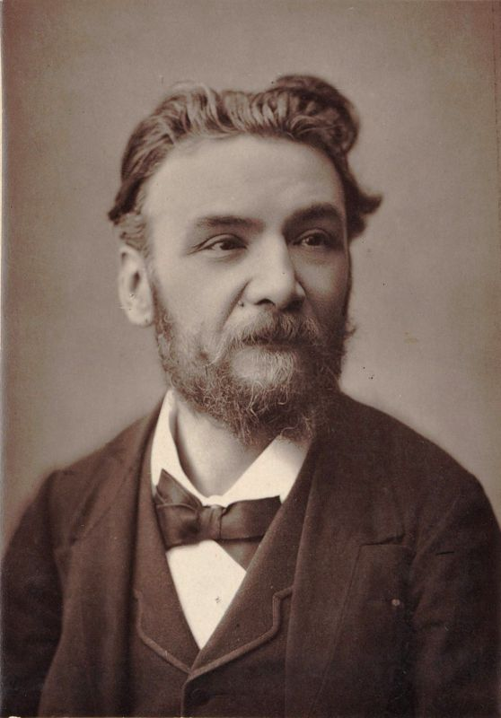 Ernest Guiraud, arreglista y editor de Aragonaise de la Suite nº 1 de la ópera Carmen de Georges Bizet