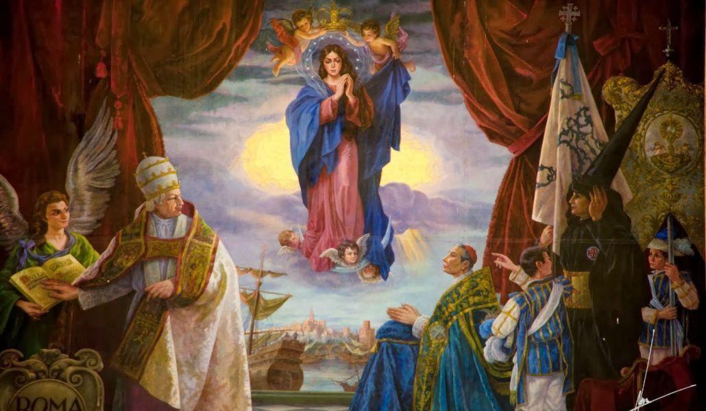 Inmaculada Concepción. Transepto de la Catedral de Santa María de la Sede (Sevilla).