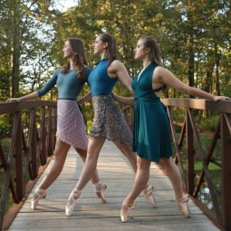 Butler ballet photo shoot