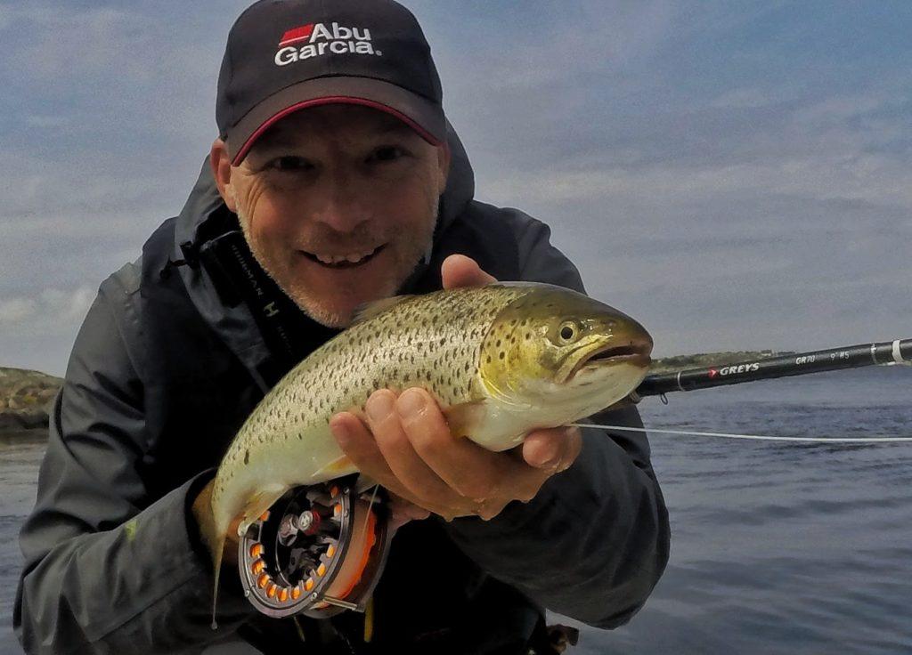 hvordan fiske sjøørret