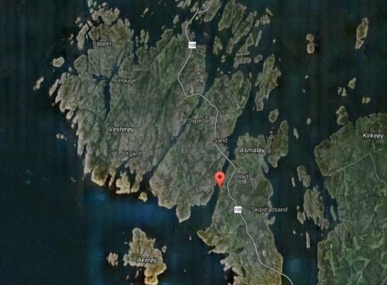 åsebu Sjøørret Fiskeplasser Hvaler