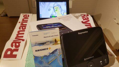 Raymarine Dragonfly 7Pro med Navionics Plus