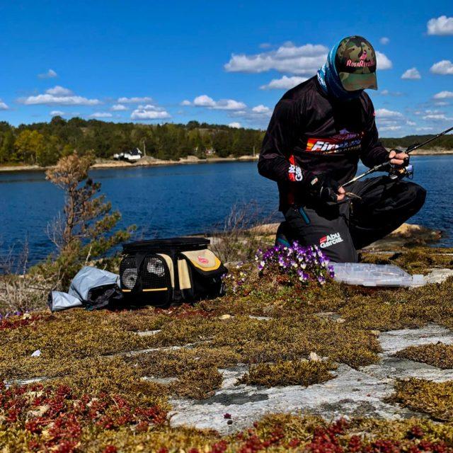Noen ganger er fisketuren det viktigste. Bjørn Tore Kjølholt,rosareke.